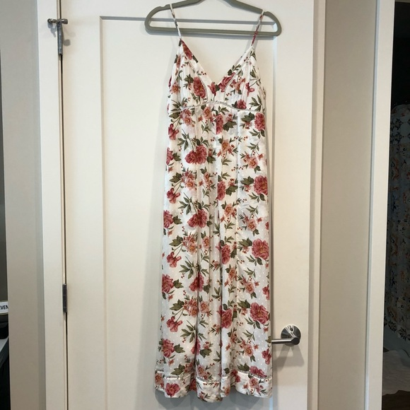5a94a9fdc6 American Eagle Outfitters Pants | Nwt American Eagle Floral Jumpsuit ...